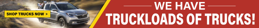 We have truckloads of trucks!