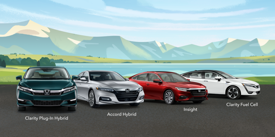The Honda Fuel Cell & Hybrid Family