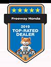 Freeway Honda 2019 Top-Rated Dealer | CarFax