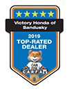 Victory Honda of Sandusky 2019 Top-Rated Dealer | CarFax